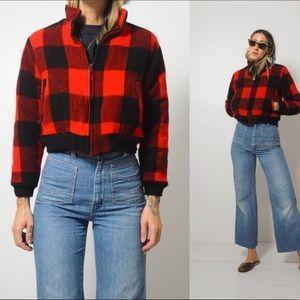 Vintage Woolrich Bomber Jacket